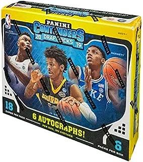 panini contenders hobby box