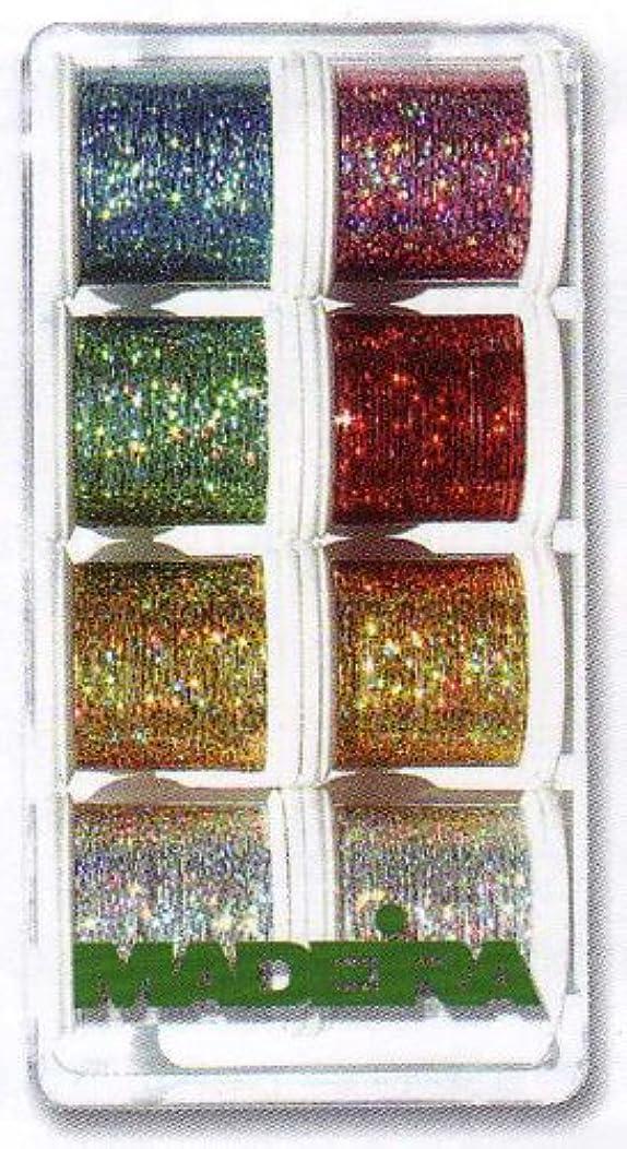 Madeira Jewel Holographic Thread Set