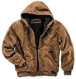 DRI Duck Men's 5020 Cheyenne Hooded Work Jacket, Saddle, X-Large