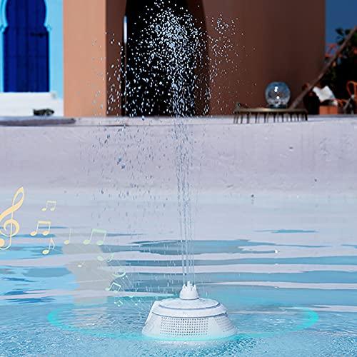 Altavoz Bluetooth Potente,Rociar Agua 5.0 Echo Dot Impermeable PortáTil,Altavoces Altavoz De Subgraves Altavoces Bluetooth InaláMbrica Bluetooth Radiio FM Luces De Colores BañO