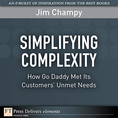 Simplifying Complexity audiobook cover art