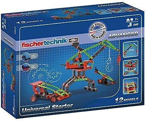Envío y cambio gratis. Fischertechnik Universal Starter Kit (240 Piece) by by by fischertechnik  en linea