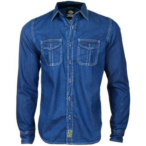 Dickies Blue Collar Denim null Indigo, Blue, L
