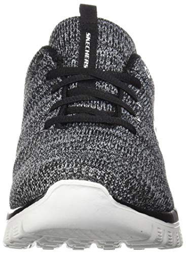 Skechers - Zapatillas Graceful-Twisted Fortune para mujer, Negro (Negro/Blanco), 39 EU