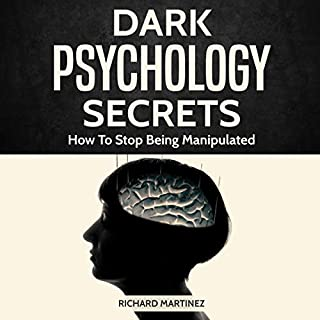 Dark Psychology Secrets audiobook cover art