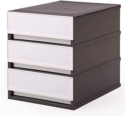 Amazon.com: Nexera Blvd 3-drawer Filing módulo: Kitchen & Dining
