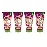 4er Pack Dreckspatz Duschbad & Shampoo - Freu Dich! 4 x 200 ml