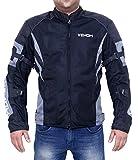 Venom Burnout All-Season Mesh Motorcycle Riding Jacket Level 2 (Grey, S)