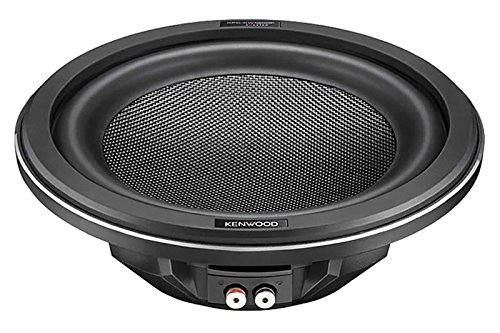 "Kenwood Excelon KFC-XW1200F 12"" 4-ohm Shallow-Mount Subwoofer with Peak Power of 1400 Watts"