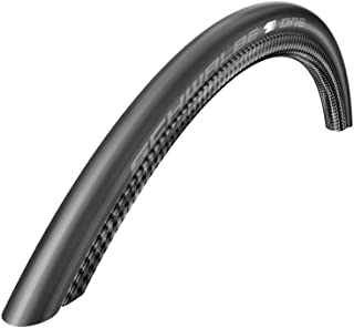 Schwalbe One Tyre: 700 X 23c Folding: White Stripes HS 448, 23-622, Evolution Line, V-Guard