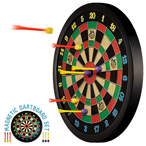 Doinkit Darts Kid-Safe Indoor Magnetic Dart Board - Easy to Hang, Fun to Play,...