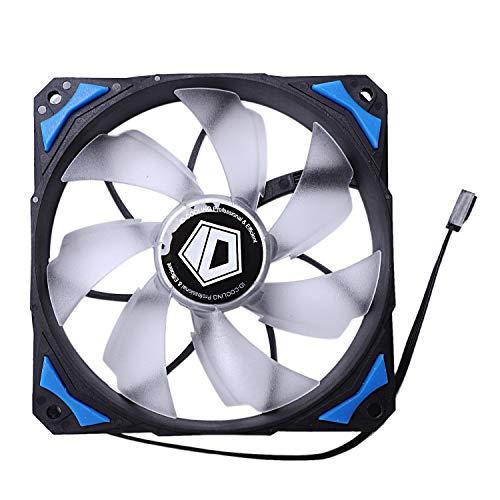 Gesh Controlador de refrigeración Pl - 12025 120 mm ventiladores LED 4 pines Control Pwm (azul)