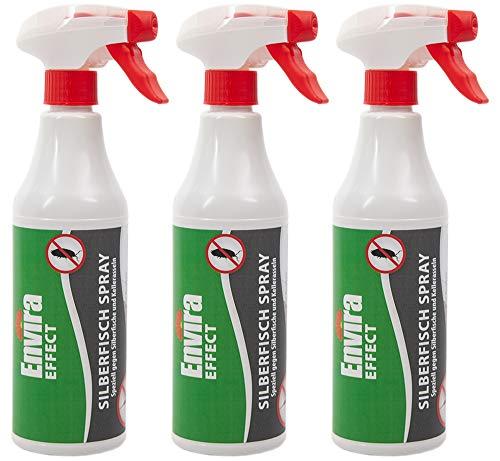 3x500ml Silberfisch Spray