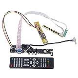 xingxing Módulo de unidad TV+HDMI+VGA+AV+USB+Audio TV LCD Driver Board Controller Board Kit de bricolaje para 15.4 pulgadas Lp154W01 B154Ew08 B154Ew01 Lp154Wx4 1280X800 módulo de unidad LCD