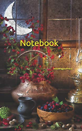 Notebook: nuts berries night cooking pan lamp pots