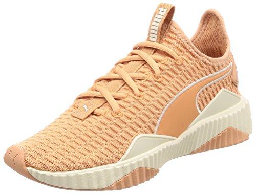 PUMA Damen Defy Fitnessschuhe, Orange (Dusty Coral-Whisper White), 42 EU