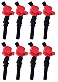 ENA Direct Ignition Coil Pack Compatible with Ford Mercury F150 F250 E150 E350 Lincoln Navigator Town Car Crown Victoria Expedition Mustang Grand Marquis...