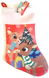 Rudolph The Red Nosed Reindeer & Clarice Christmas Stocking