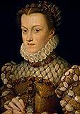 Francois Clouet – Portrait of Elisabeth of Austria by