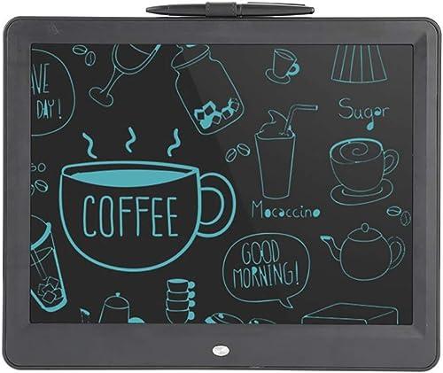 Tu satisfacción es nuestro objetivo Tableta de escritura LCD de de de 15 pulgadas, tablero de dibujo electrónico portátil Doodle Board, súper ligero, amigable con los ojos, regalo para Niños y adultos en el hogar, la escuela y la oficina  echa un vistazo a los más baratos