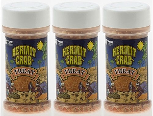 Florida Marine Research Hermit Crab Treats, 1.5 Ounce (1.5 Ounces - 3 Pack)