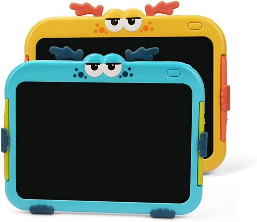 Color : Yellow, Size : 8.5 inches Oureong LCD Writing Tablet 8.5 Inch Childrens Drawing Board LCD Electronic Handwriting Painting Board for Kids Home School Office