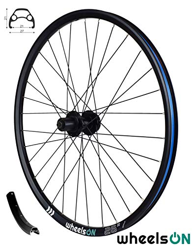 wheelsON QR 26 inch Rear Wheel Mountain Bike 8/9/10 Speed Freehub 32H Black