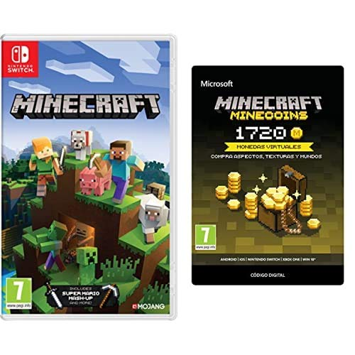 Minecraft (Nintendo Switch) + 1720 Minecoins (Código de descarga)