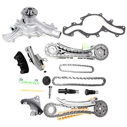 OCPTY TS20395F Kit de Cadena de distribución con Engranajes + Bomba de Agua para Motor de 4.0 L Ford…