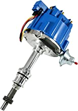 Assault Racing Products 1030213 for Small Block Ford HEI Ignition Blue Cap Distributor with 50K Coil Small Block SBF 260 289 302