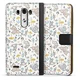 DeinDesign Étui Compatible avec LG G3 Étui Folio Étui magnétique Produit sous Licence Officielle...