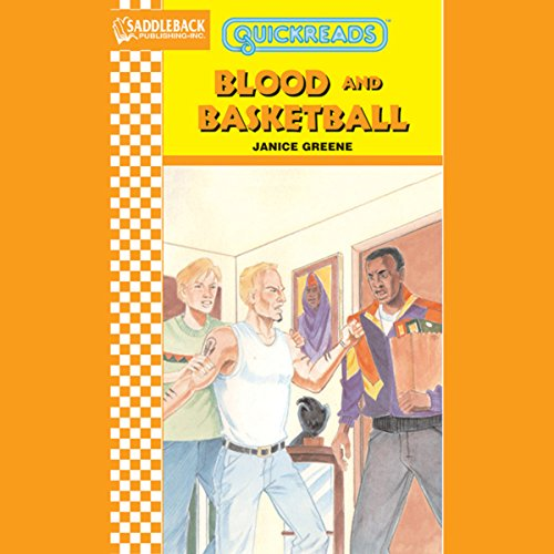Blood and Basketball audiobook cover art