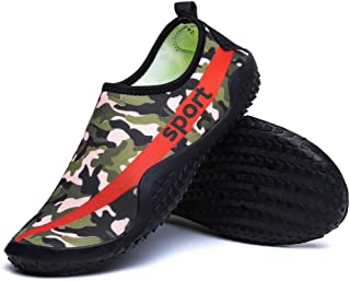 Outdoor Beach Shoes,Large Size Shoes,Water Shoes,Swimming, Skin, Multi-Function,Non-Slip,Quick-Drying,Upstream,Green,43