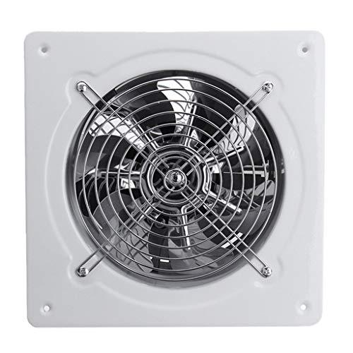 YOUCHOU Ventilador de escape de alta velocidad de 4 pulgadas, 25 W, 220 V, para cocina, baño, colgar en la pared, ventana de vidrio, pequeño ventilador, extractor de ventiladores de escape
