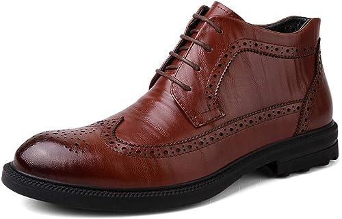 Xiazhi-chaussures, Xiazhi-chaussures, Xiazhi-chaussures, Bottes pour Homme - Marron - Marron, 39 f04