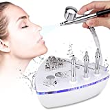 Diamond Microdermabrasion Machine with Spray Gun, MYSWEETY 65-70cmHg Suction Power Professional Dermabrasion Machine & Water Spray Exfoliation Facial Beauty Machine Skin Care Equipment for Home Use