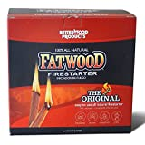 Better Wood Products Fatwood Firestarter Box, 10-Pounds