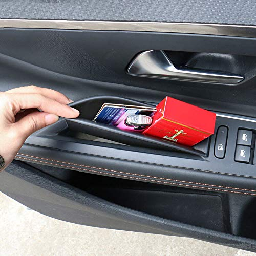 LFOTPP Scatola Immagazzinaggio Auto Portiera per 3008 5008 GT, Secondario Organizer Vano Portaoggetti Auto Accessori (2 pezzi)