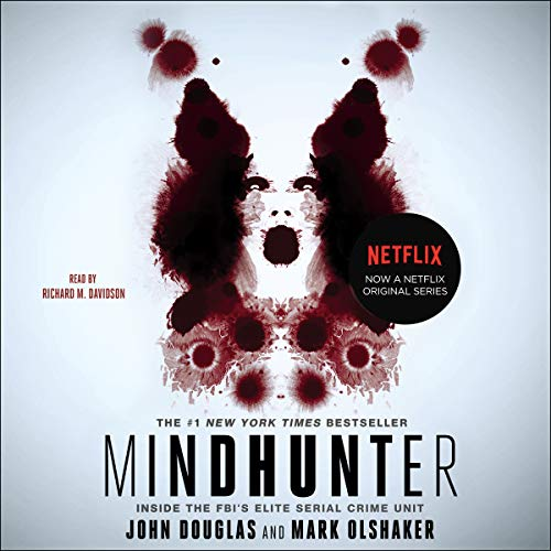 Mindhunter audiobook cover art