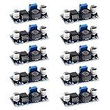 WiMas 10 unidades LM2596 DC-DC convertidor descendente 3.0-40 V a 1.5-35 V 3 A regulador de voltaje ajustable Módulo Step Down