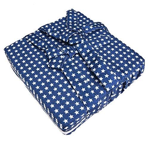 Cuscino del sedile rialzato, cuscino rialzato leggero sicuro per bambini alla moda 3 colori durevole opzionale con cinghie regolabili per uso domestico(blue, star)