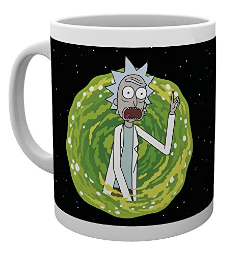 Rick And Morty Your Opinion Tasse weiß