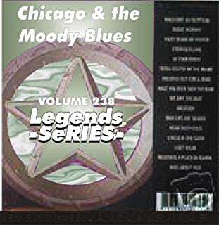 Chicago & The Moody Blues 18 Song Karaoke CD+G Legends #238
