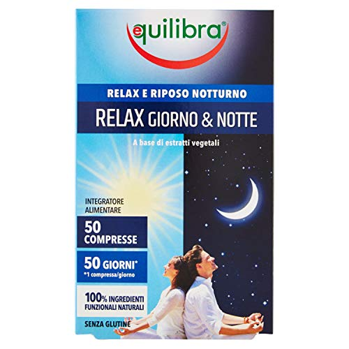 Equilibra Relax Giorno & Notte, 50 compresse