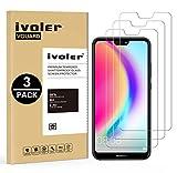 ivoler [Pack de 3] Verre Trempé pour Huawei P20 Lite, Film Protection en Verre trempé écran...