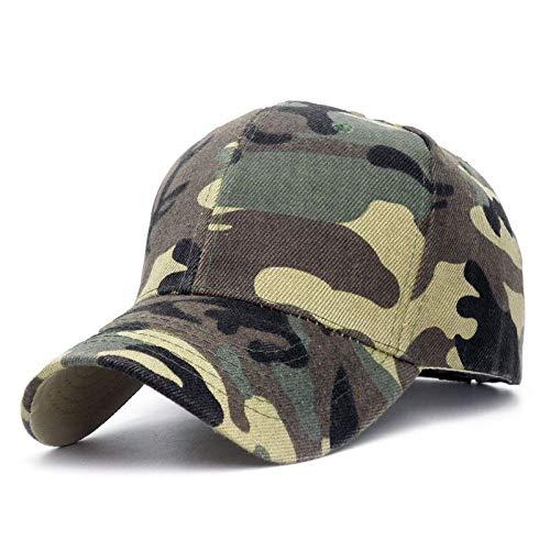 VKGJMHD Hüte Für Männer Frauen Baumwolle Camo Baseball Cap Outdoor Klettern Jagd Camo Hüte Armee Camo Snapback Dad Cap