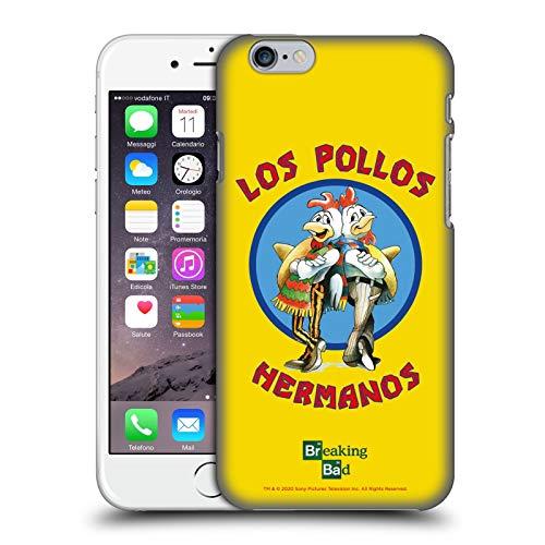 Head Case Designs Licenza Ufficiale Breaking Bad Los Pollos Hermanos Grafiche Cover Dura per Parte Posteriore Compatibile con Apple iPhone 6 / iPhone 6s