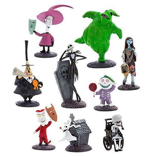 Disney Tim Burton's The Nightmare Before Christmas Deluxe Figurine Play Set