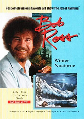 Bob Ross the Joy of Painting: Winter Nocturne [DVD] [Region 1] [US Import] [NTSC] [2014]