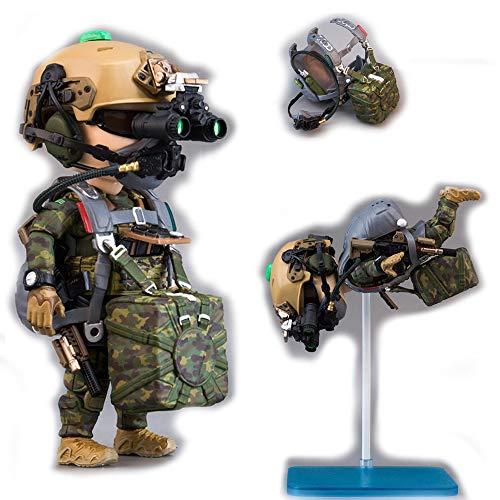 Seal Team 6 Division | Tricky Man Marsoc Halo Jumper | Militär Figur Paintball Softair Military | Spezialeinheiten Army Spielfigur | 12 cm groß Special Forces Seal Team 6